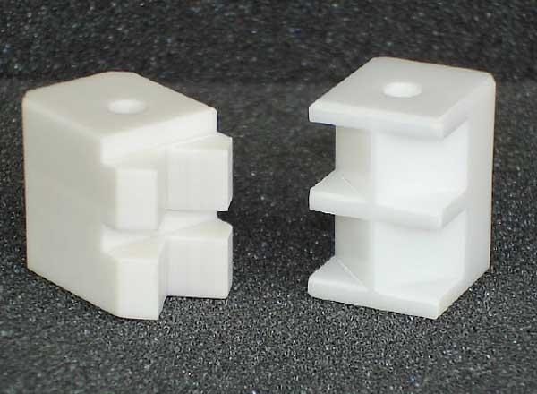Backen aus Hochleistungskeramik ZrO2-Y-TZP